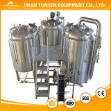 Classe elevada do equipamento sanitário da fabricação de cerveja de cerveja 500L
