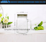 Kundenspezifische inländische Glassaft-Flasche mit Metallschutzkappe