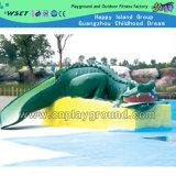 Modelo del cocodrilo del agua para el patio del juego del agua (HD-7003)