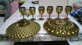 Máquina de cristal de la vacuometalización del oro de Rose de la plata del oro del plasma