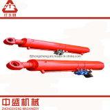 Tipo especial de dos vías cilindro hidráulico de Customed para el excavador