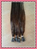 """A extensão Pre-Ligada do cabelo do cabelo humano de preço de grosso 100% Eu-Derruba 30 de seda a """" cor 2"""