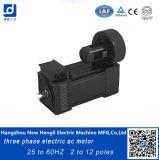 ISO9001 moteur à courant alternatif Triphasé de l'admission 135kw 380V