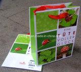 Sacos de papel relativos à promoção feitos sob encomenda carimbados do presente da compra do logotipo