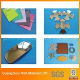 Feuille acrylique en plastique de miroir de couleur de ruban adhésif