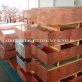 0.5mmx1mx3mの半分の堅く装飾的な銅シート