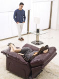 بيتيّ أثاث لازم [ركلينر] جلد أريكة نموذج 919