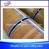 Automatische CNC-Plasma-Flamme-Ausschnitt-Maschine für rundes Stahlrohr