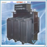 50kVA 10kv transformé en alliage amorphe immergé à trois phases amortisseur / transformateur de distribution