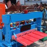 Roulis de profil en métal formant la machine utilisée pour le panneau en acier de frontière de sécurité de ferme