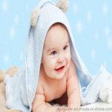 赤ん坊のための100%年の綿のフード付きの浴室タオルか高品質の子供