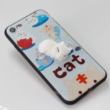 Подгонянное iPhone 6/6s аргументы за телефона силикона 3D Squishy плюс случай 7 7plus