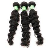 Weave real do cabelo humano de Remy da onda profunda para mulheres