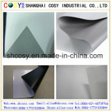 Negro Volver 420GSM (500 * 500D) Flex PVC frontal Lit Banner mate para impresión