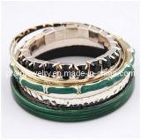El verano de la moda de joyería fina joyería// chapado de aleación de zinc verde multi-capa pulseras Pulsera Ecológico (PB-083)