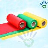 Fabricant de rouleau de tissu non tissé en polypropylène, les nontissés