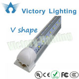 2FT-8FT 12W-44W Tubos en forma de V T8 LED Congelador Luz LED Cooler Light