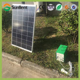 LCD 디스플레이를 가진 6V4ah Home Electric Appliances Portable Solar Power System Generators