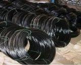 黒はワイヤー、電流を通されたワイヤー、PVCによってを塗られた鉄ワイヤーアニールした