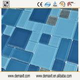 ガラスタイル張りの床