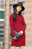 Women' S Cashmere Sweater with Round Neck (13brdw088-1)