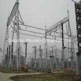 Construcción Energía Eléctrica Suministro Subestación Acero