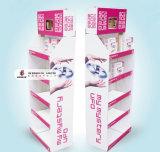 Material de papel reciclado Avión de juguete Publicidad Pantalla de supermercado