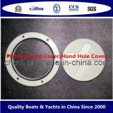 Coperchio rotondo della Parte-Plastica di plastica marina della barca/coperchio foro della mano