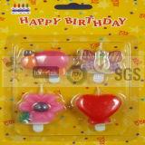 Verschiedenes Baumuster-lebhafte Geburtstag-Kerzen