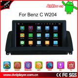 C W204車TVボックスのための防眩Carplayのアンドロイド7.1 GPSの運行、OBDの軽打のWiFiの接続GPSの運行
