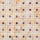 壁の装飾の石の大理石のモザイク(S755008)