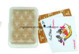 Cartões de jogo de papel feitos sob encomenda da caixa plástica da impressão