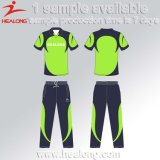 Les femmes de gros Healong Nouvel uniforme de cricket de sublimation de la conception graphique