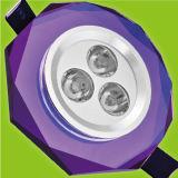 水晶LED Downlight (光線026P)
