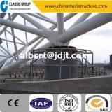 重く速いインストールプレハブの産業鉄骨構造のトラス