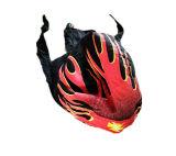 Подгонянный шлем конструкции пламени шлема пирата напольный
