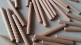 Factory- (hêtre, érable et eucalyptus) Broche en bois en taille 6mmx20mm