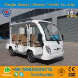 Elevadores eléctricos de 8 Passageiros carro turístico branco