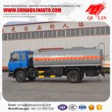 Vrachtwagen van de Tanker van de Stookolie van de kleur de Facultatieve Met 4 Lagen het Schilderen