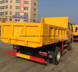작은 Dongfeng 4X4 Hotsale 5 T LHD & Rhd 덤프 트럭 가격