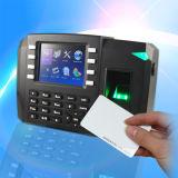 Het biometrische Controlemechanisme van de Opkomst & van de Toegang van de Tijd met WiFi/GPRS (tft600-II)