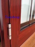 Customized High Quality Waterproof Double-Glazed Aluminium French Portas com AS / NZS2208