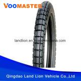 中国のブランドの土地のライオンの品質保証のオートバイのタイヤ4.10-18
