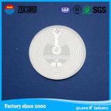 Etiqueta del PVC NFC Qr RFID el de alta frecuencia