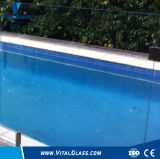 6mm Clear Float Glass Tempered Glass Laminated Glass Fence Glass