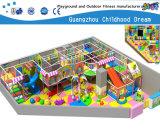 Parque Infantil suave para piscinas interior e exterior com piscina de bolas e slides (H14-0915)