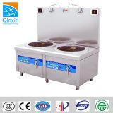 CE CERTIFICAT D'induction de la sécurité de la Soupe cuisinière avec deux brûleurs