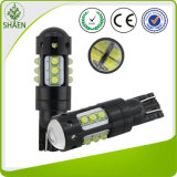 T10 chip chiaro 6000k del CREE 80W dell'automobile LED