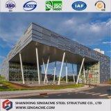 Edificio comercial pesado de la estructura de acero para la oficina de trabajo