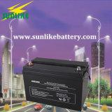 batteria profonda acida al piombo di potere del ciclo 12V100ah per l'indicatore luminoso di via solare